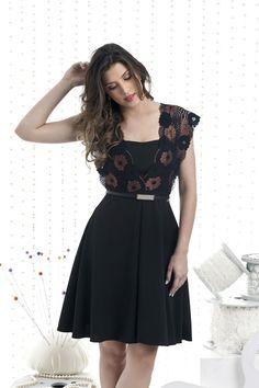 Vestido Renda - Bella Herança - Moda Evangélica e Roupa Evangélica: Bela Loba