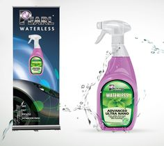 Spray your way to sustainable business success with Pearl Advanced Ultra Nano 2-wax shine and protection
