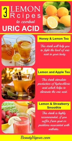 These 3 Lemon Recipes To Combat Uric Acid
