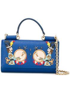 25c076174add Dolce   Gabbana Mini  Von  Wallet Crossbody Bag - Farfetch