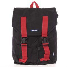 e1c58fd90e Lehký velký cestovní černý batoh - Travel plus 0611