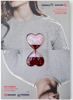 The 360º Blood Poster: Cartaz criativo incentiva doação de sangue
