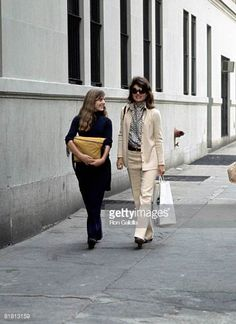 Jackie Onassis and Caroline Kennedy