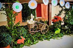 Quem tem pimpolhos que fazem aniversário em Abril, pode usar o tema Coelho da Páscoa para fazer a festa.