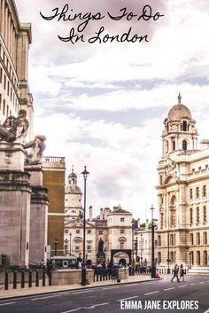 Four Days In London - Emma Jane Explores - Solo Female Travel Blog