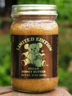 Pecan Honey Butter-SUGGESTED USES FOR HONEY BUTTER * Use on toast ...