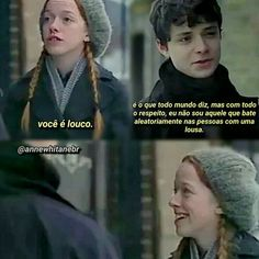 "Baseado na série ""Anne with an E"" da Netflix. Gilbert Blythe, Teen Wolf Memes, Gilbert And Anne, Anne White, Anne Shirley, Cuthbert, Aesthetic Images, Best Series, Pretty Little Liars"