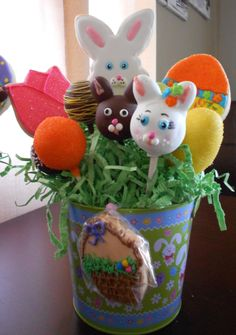 Easter cookie and cake pop pail!