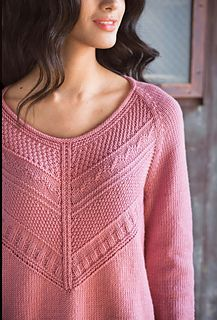 #16 Guernsey Pullover by Norah Gaughan Published in Vogue Knitting, Fall 2016