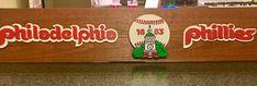 Phillies retro sports plaque
