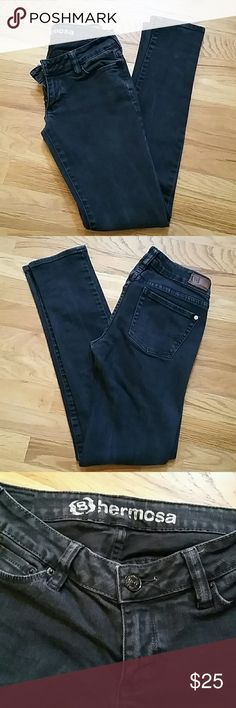 Bullhead Skinny Jeans PacSun's Bullhead hermosa super skinny fit jeans.  98% Cotton 2% Spandex, size 3 regular. In excellent condition! PacSun Jeans Skinny