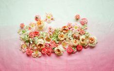 Moon Canyon Florals 1 Desktop Wallpaper | DesignLoveFest