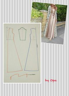 Sewing Blouse Pattern Tunics Tutorials New Ideas Dress Sewing Patterns, Sewing Patterns Free, Sewing Tutorials, Clothing Patterns, Abaya Pattern, Tunic Pattern, Fashion Sewing, Diy Fashion, Formation Couture