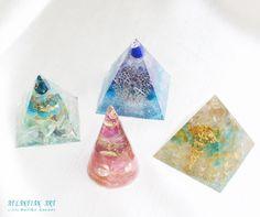 新作オルゴナイト♪ の画像|ATLANTIAN ART~天然石アクセサリー・点画・オルゴナイト
