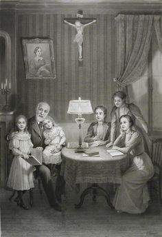 St. Therese and her family <3 what a model for Catholic family home life!