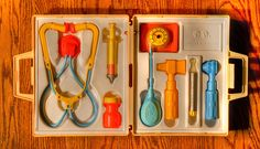 Vintage Fisher-Price Doctor's Kit...Vintage?! I used to have this!