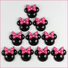 Lot 10pcs Minnie Mouse Pink Bow Resin Flatbacks Girls Hairbows Crafts Making BIN | Crafts, Multi-Purpose Craft Supplies, Crafting Pieces | eBay!