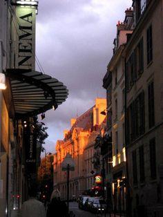 Narrow Latin Quarter Street