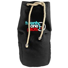 Bandy Twenty One Pilots 9 Canvas Drawstring Backpack Bucket Bag * Details can be found by clicking on the image.