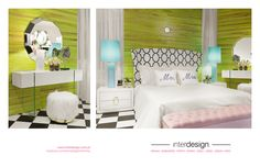 Paris Room, by interdesign