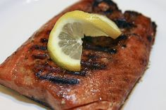 Salmon is one of my favorite dishes. I need to try this soy sauce and brown sugar grilled salmon recipe. #salmon #dinner #easy #soysauce #grilled #tangy #seafood #fish