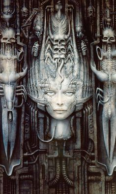 Artwork by H R Giger