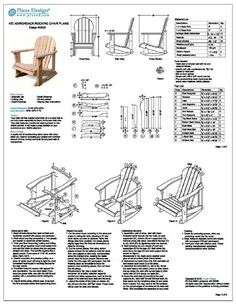 33 best adirondack chair plans images on pinterest woodworking