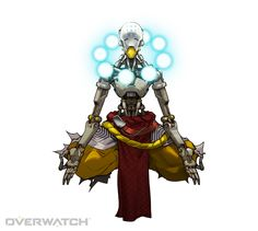 Zenyatta calls upon orbs of harmony and discord to heal his teammates and weaken his opponents, all while pursuing a transcendent state of immunity to damage.