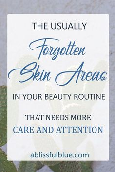 Which areas do you take care of in your beauty routine? your face? your arms? or your legs? do you know that there are plenty skin areas that most of us often forget when taking care of the skin. And without proper care, they can affect your appearance and also you health.  beauty | lifestyle | wellness | essential oils | skincare | skin | self-care #EyelinerTricks