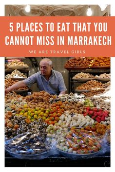 5 PLACES TO EAT THAT YOU CANNOT MISS IN MARRAKECH! Top 5 dining destinations in Marrakech, Morocco from Becky van Dijk for We Are Travel Girls