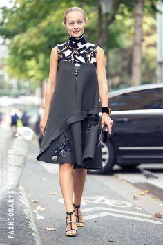 StreetStyle #pfw Daria Shapovalova