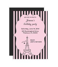 Paris Invitations Templates Free Best Of Paris Party Invitation Chicfetti Paris Party, Paris Birthday Parties, Paris Theme, Spa Birthday, Birthday Cake, Paris Invitations, Passport Invitations, Business Invitation, Invitation Wording