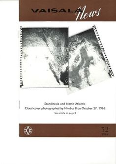 Vaisala News 32 1966 Make It Simple, Clouds, News, Cloud