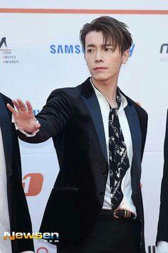 [NEWS PICT] 171115 2017 Asia Artist Awards - Donghae♡