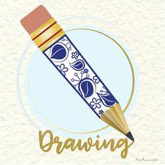 #pencil #drawing #dibujando #lapiz #desing #diseño #imaginación #crea #vector