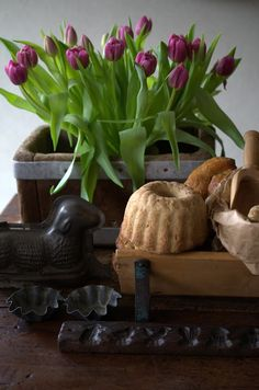 Spring is almost here. #culinary antiques