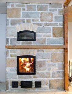 masonry heater with oven
