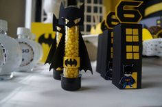 Baleiro de lembrancinha personalizado tema Batman