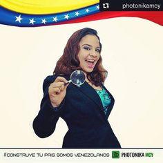 """""""Mis amigos de @carlotajonesphotography y @photonikamcy me invitaron a e st a iniciativa que busca rescatar los valores perdidos en el irrespeto, la ignorancia y el abuso que hemos padecido como país y como venezolanos.  Yo quiero construir un país mejor para mi familia, para que mis amigos en el exterior regresen y construyan su país que no les dió tanto en el momento,pero que, como el fenix, renacerá de las cenizas que la corrupción ha dejado y les dará la cosecha que, los que quedamos…"""