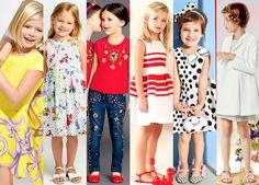 Moda Preview | Ropa de Niñas Tendencias Verano 2015 | http://www.modapreviewinternational.com