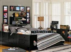Cool Bedroom Decorating Ideas For Men With Black Bedroom Furniture