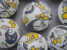 yellow hardware for nursery