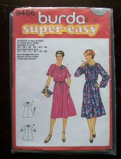 Items similar to European Burda Pattern Misses Dress though 20 on Etsy Burda Patterns, Vintage Sewing Patterns, Trending Outfits, Handmade Gifts, Etsy, Kid Craft Gifts, Craft Gifts, Diy Gifts, Hand Made Gifts
