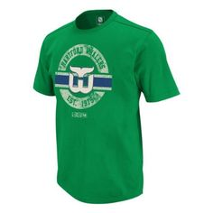 Hartford Whalers Retro Applique Jersey T-Shirt Size S by CCM. $27.00. The Retro Applique Jersey T-Shirt from CCM features: - 100% Cotton jersey - Athletic fit - Classic Wash - Front applique with distressed print - Custom back neck label. Save 23%!