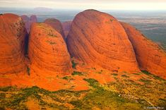 The Olgas, Kata Tjuta National Park, Northern Territory - Outback Australia