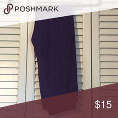 Lularoe Leggings OS Purple Only worn and washed once via Lula Care. Perfect condition (no pilling)! Color was hard to capture but these are a really pretty deep (ish) purple! LuLaRoe Pants Leggings