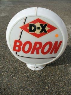 DX Boron Gas Globe