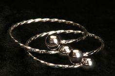 I Love Silver Belizean Bangles