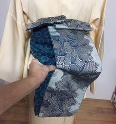 ★誰でも出来る、簡単 結ばない半幅帯結び★ | ひめ吉半襟・デザイン日記 Kimono Pattern, Kimono Fashion, Japan, Beautiful, Outfits, Around The Worlds, Fashion Styles, Japanese