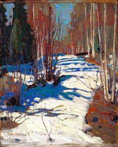 Tom Thomson (1877-1917, Canada)